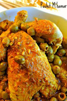 poulet marocain (m'hamar)