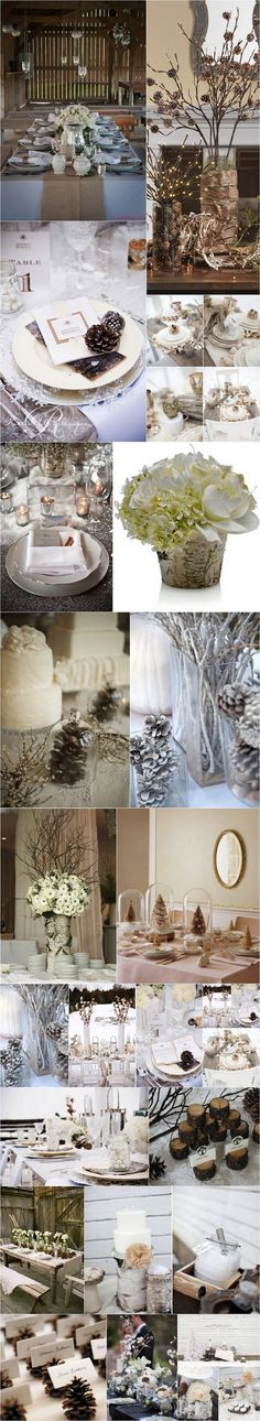 mariage d'hiver nature 2
