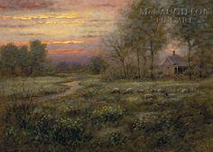McNaughton Fine Art Company - Evening Hush 16x24 LE Signed