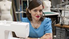 The Sewing Contestants on The Great British Sewing Bee: We love, love, love Tilly's style, but sadly time and pressure let her down in episode two.