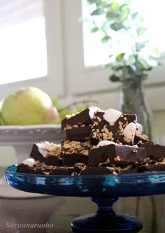 Rocky road fudge. Looks delicious.