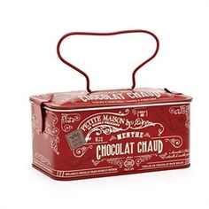♥♥♥ love this red vintage tin