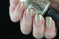 #ablecaw14 Week 16: Gold or Silver. OPI - Love. Angel. Music. Baby. / OPI - Pure 18K White Gold and Silver Top Coat / Zoya - Tomoko.