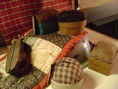 Primitive pin cushions