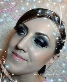 Stormy Sky is a dramatic smoky eye look. I have a video tutorial for this also ;)