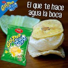 #GolpeConTodo Limón, #Rizadas, #Chicharrón y #TostiPlatanito #Yupi, cítricos y saladitos que te hacen agua la boca.
