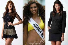 Miss Mundo de Puerto Rico 2015 Top 3 Hot Picks