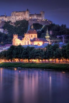 Salzburg, Austria. I absolutely fell in love with this city.