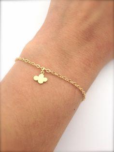 Tiny Cloud Bracelet <3