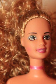 Sweet Golden Blond Curls PT Reroot Teresa Barbie Doll OOAK #Mattel