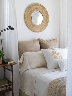 guest bed ideas! We're trying to paint the second bedroom so that we like the colors for adults and whenever we need to turn it into a nursery without painting again
