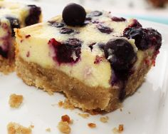 What's Cookin' Italian Style Cuisine: Blueberry Cream Cheese Bars Recipe - Delish!!!!   Just made this and will go to the recipe again and again...