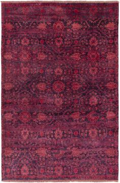 Surya Empress EMS-7014 Red Hand Knotted Area Rug – Incredible Rugs and Decor