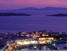 Harbor Mykonos - Greece ~ @My Travel Manual