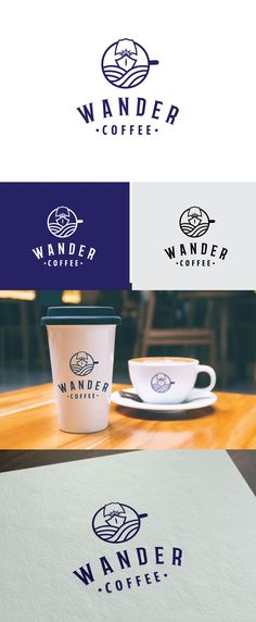 Design #190 by Marija's Designs | Wander Coffee needs a unique logo