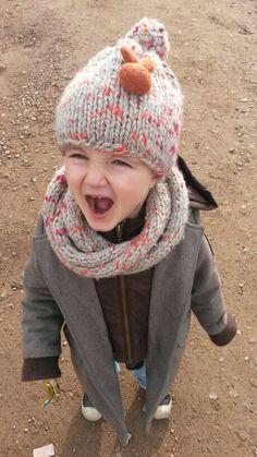 Bonnet# snood #tricot#phildar #laines #aiguilles# c'est moi qui l'est fait!!#fière