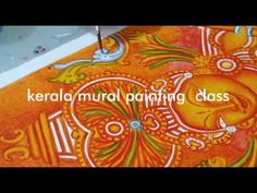 Mural Painting tutorial class in malayalam - Bijitha Praveen Kerala Mural Painting, Tanjore Painting, Tutorial Class, Painting Videos, Painting Classes, Acrilic Paintings, Paper Jewelry, Drawing Lessons, Mural Art