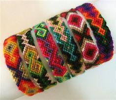 CUSCO Handmade with Wool PERU 20 FRIENDSHIP BRACELETS from CUZCO