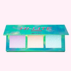 Lime Crime Hi-Lite Mermaids Highlighter Palette - Moonlit Iridescent Powder Trio - For All Skin Tones - In 3 Shades, Lavender, Ivory & Seafoam - For Face or Body - Vegan Highlighter Makeup, Vegan Makeup Palette, Lime Crime Makeup, Green Highlights, Love Makeup, Face, Mermaids, Cruelty Free, Beauty Products