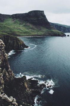 Moody Nature — lsleofskye: Neist Point ( Isle of Skye )