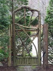 cool looking gate