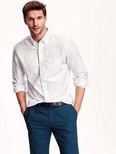 Mens Slim-Fit Oxford Shirts