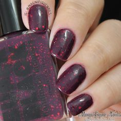 Super Black The Haymaker  #nails #nailpolishes #swatches #superblacklacquers #springcollection #love
