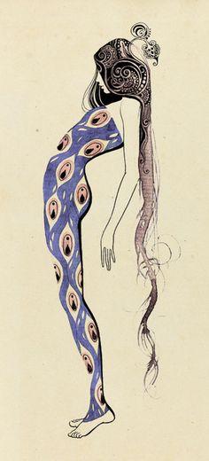 illustration art nouveau