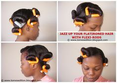 Tomes Edition: Jazz Up Your Hair With Flexi-Rods…