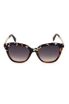 Vogue Festival Folk: Fendi multicoloured sunglasses