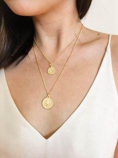Gold Coin Necklace Set / Turkish Coin Necklace / Ottoman Coin