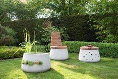Bildergebnis für gartenmöbel aus beton selbstgemacht