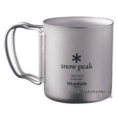 Snow Peak Titan Thermobecher Faltgriff