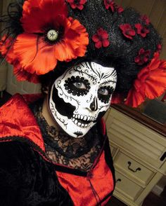 Day of the Dead Catrina #mexico #sugarskull