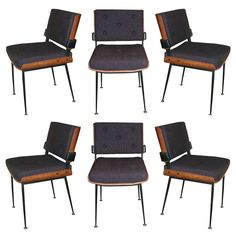 1950s chairs by Alain Richard