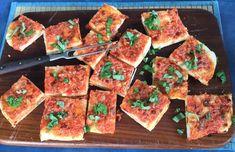 Italienische Tomatenecken - Trudels glutenfreies Kochbuch, glutenfrei backen und kochen bei Zöliakie. Glutenfreie Rezepte, laktosefreie Rezepte, glutenfreies Brot