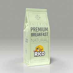 Packaging Café Rico Premium-Breakfast
