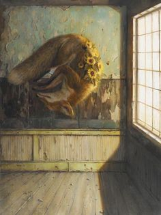 Martin Wittfooth is an artist based in Brooklyn, NY, his work has been featured in magazines such as; BL!SSS Magazine, VICE Magazine, American Artist and more. Martin has limited edition prints available, head over to his website to to find out more.