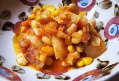 メキシコ料理を家めし風にアレンジ。簡単「チリコンカン」は、ふたつのスパイスが決め手!   TABI LABO New Recipes, Cooking Recipes, Chana Masala, Side Dishes, Spices, Pork, Meals, Ethnic Recipes, Sweet