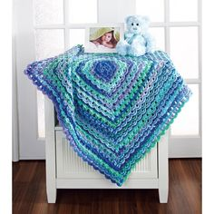 I want this pattern. I wish they would have the option of only getting the pattern.   Mary Maxim - Textured Granny Blanket