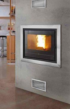 Pelletkachel Insert Line 490  is een elegante en moderne stijl, lucht geleide, pellet haard  hoogrendement pelletkachel; levert 11 Kw vermogen,  verwarmt ruimtes tot 12 m3 en is de stilste kachel in zijn soort (36db).  Uitvoering: inbouw Kleur: zwart Vermogen: 8,5Kw Hoogte: 49cm Breed: 67cm Diep: 64cm  meer informatie: http://www.pelletkachelshuis.nl/product/pelletkachel-insert-line-490/