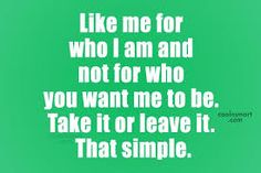 Image result for quotes about me