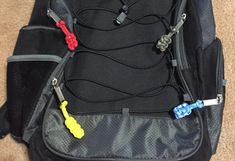 A paracord zipper pull is a wonderful project because it uses up the scrap paracord you might have left over from a bigger project. Paracord Zipper Pull, Zipper Repair, Zipper Pulls, North Face Backpack, Girl Scouts, Wild Wolf, Backpacks, Knots, Bags
