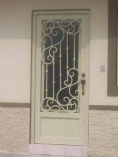 Resultado de imagen para puertas de herreria minimalistas