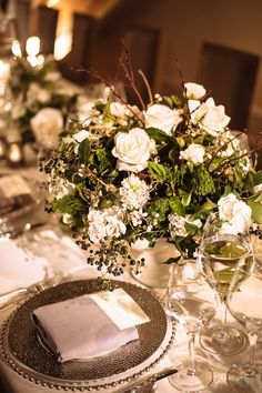 Wedding centerpiece idea; Photo: Eli Turner