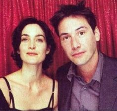 Carrie-Anne Moss and Keanu Reeves both hot Canadians from The Matrix Keanu Reeves John Wick, Keanu Charles Reeves, Keanu Reeves Matrix, First Ladies, Canadian Actresses, Actors & Actresses, Trinity Matrix, Cannes, The Matrix Movie
