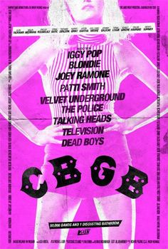 Coming soon!!!!!!!!! 2013 CBGB' Debuts Malin Akerman's Blondie Poster (Exclusive), Gotta See This!!