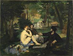 Édouard Manet  Le Déjeuner sur l'erbe