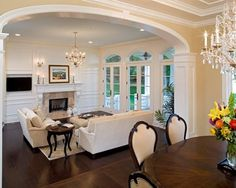 Step Down To Family Room Design Ideas Pictures Remodel