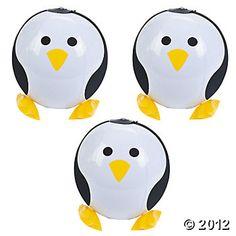Inflatable Penguin Beach Balls